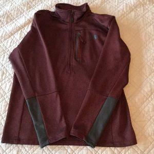 The North Face Men's 1/2 zip fleece size L